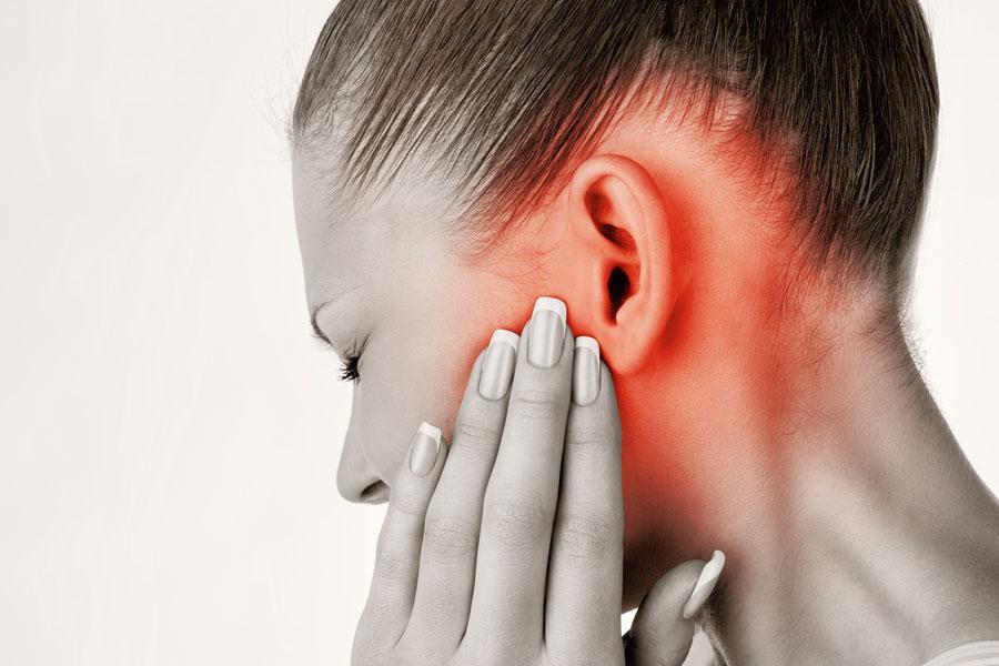 Dolor en la articulación de la mandíbula