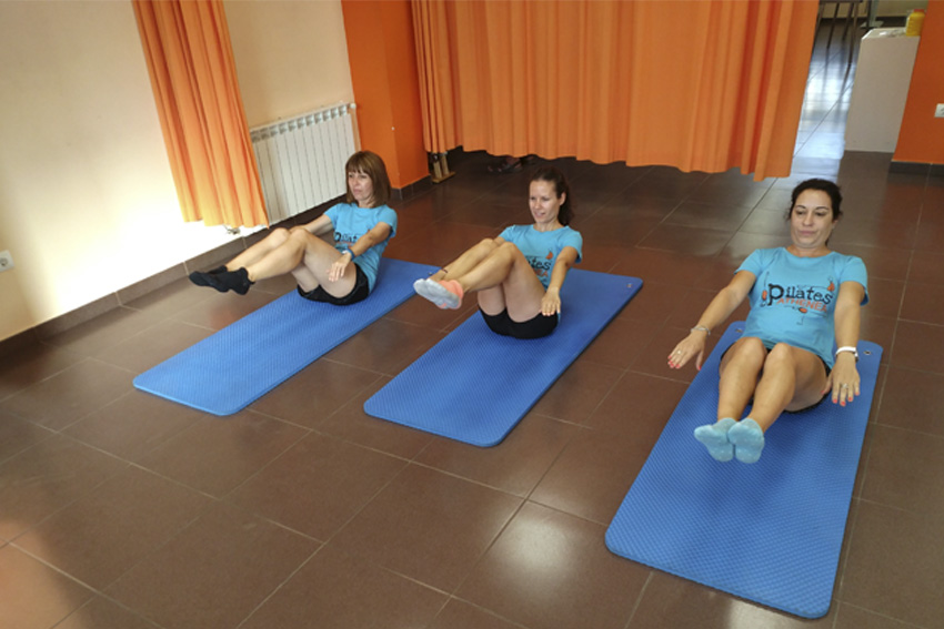 Clases de pilates grupales